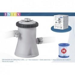 Épurateur À Cartouche Intex Ref 28602 1250 Litres Heures | Piscineshorssolweb