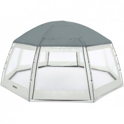 Dôme de Portection pour Piscine de 600x600x295 cm. Bestway 58612