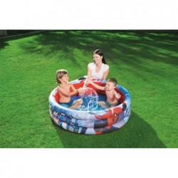 Piscine Gonflable Pour Enfants de 122x30 cm. Spiderman Bestway 98018 | Piscineshorssolweb