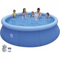 Piscina Desmontable con Depuradora 1136 L. Jilong 17794EU de 360x76 cm Promt Pool Set