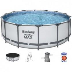 Piscine Hors Sol Steel Pro Max de 427x122 cm. Bestway 5612   Piscineshorssolweb