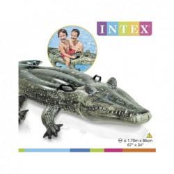 Crocodile Gonflable Intex 57551 De 170x86 Cm | Piscineshorssolweb