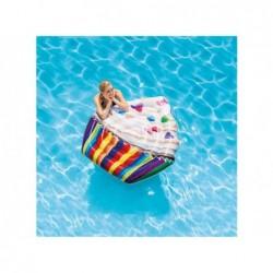 Matelas Gonflable Cupcake Intex 142x135 Cm. 58770 | Piscineshorssolweb