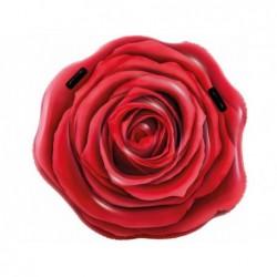 Matelas Gonflable Intex 58783 Rose Rouge 137x132 Cm