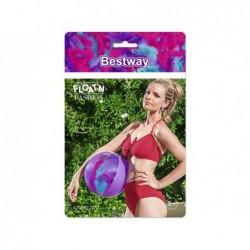 Ballon Gonflable Violet Avec Plumes De 41 Cm. Bestway 31051 | Piscineshorssolweb