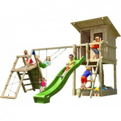 Aire De Jeux Avec Challenger Beach Hut Masgames Ma812301