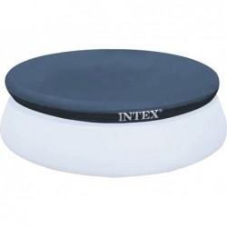 Bâche De Protection Pour Piscine Autoportante Circulaire Intex Ref 28020 244 Cm