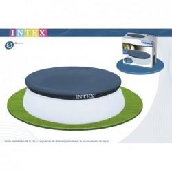 Bâche De Protection Pour Piscine Autoportante Circulaire Intex Ref 28020 244 Cm | Piscineshorssolweb