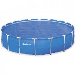 Bâche À Bulles Circulaire Pour Piscine Tubulaire Bestway 58173 521 Cm Diametre