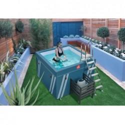Mini Piscine Fit S Pool Pour Aquafitness De 128x184x184 Cm | Piscineshorssolweb