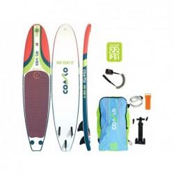 Planche De Surf Gonflable Coasto Air Surf 8 Poolstar Pb-Cairs8a De 244x57 Cm   Piscineshorssolweb