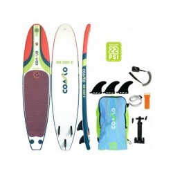 Planche De Surf Gonflable Coasto Air Surf 8 Poolstar Pb-Cairs8b De 244x57 Cm.   Piscineshorssolweb